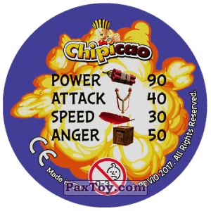 PaxToy.com - 22 FIND YOUR INNER ANGER (Сторна-back) из Chipicao: Angry Birds 2017