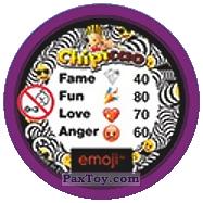 PaxToy.com - 23 Смайлик в очках (Сторна-back) из Chipicao: EMOJI