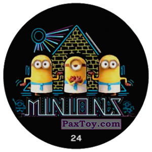PaxToy.com - 24 MINIONS из Chipicao: Minions