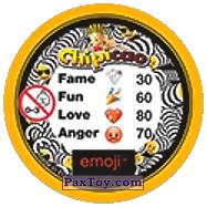 PaxToy.com - 24 Модный смайлик (Сторна-back) из Chipicao: EMOJI