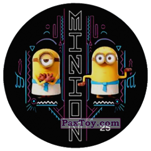 PaxToy.com - 25 MINION из Chipicao: Minions