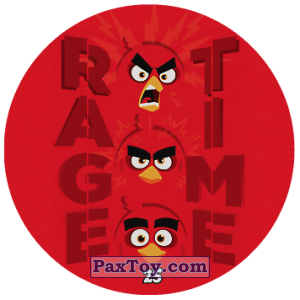 PaxToy.com - 25 RAGE TIME из Chipicao: Angry Birds 2017