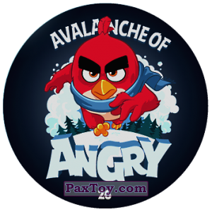PaxToy.com - 26 AVALANCHE OF ANGRY из Chipicao: Angry Birds 2017