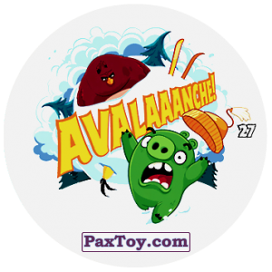 PaxToy.com - 27 AVALAAANCHE! из Chipicao: Angry Birds 2017