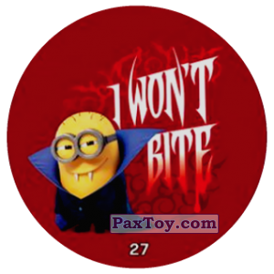 PaxToy.com - 27 I WONT BITE из Chipicao: Minions