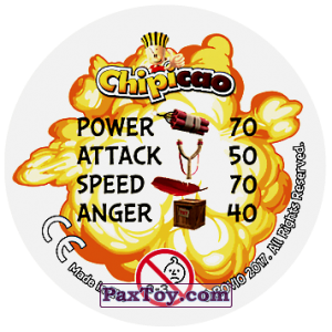 PaxToy.com - 27 AVALAAANCHE! (Сторна-back) из Chipicao: Angry Birds 2017