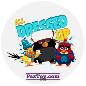 PaxToy.com - 28 ALL DRESSED UP из Chipicao: Angry Birds 2017