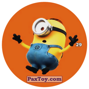 PaxToy.com - 29 STUART THE MINION из Chipicao: Despicable Me 3