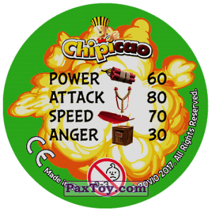 PaxToy.com - 29 AIR TRAFFIC (Сторна-back) из Chipicao: Angry Birds 2017