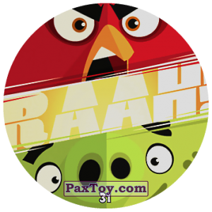 PaxToy.com - 31 RAAH! из Chipicao: Angry Birds 2017