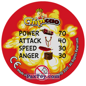 PaxToy.com - 31 RAAH! (Сторна-back) из Chipicao: Angry Birds 2017