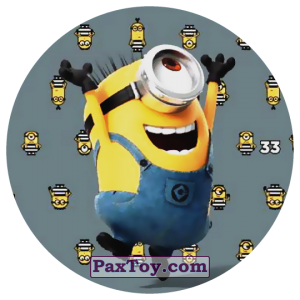 PaxToy.com - 33 STUART THE MINION из Chipicao: Despicable Me 3