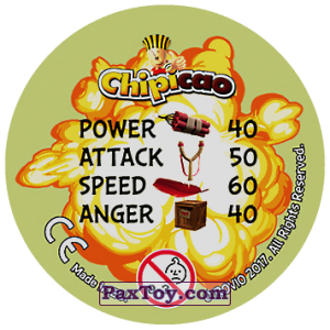 PaxToy.com - 33 ANGER ISSUES (Сторна-back) из Chipicao: Angry Birds 2017
