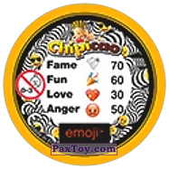 PaxToy.com - 33 Побитый Смайлик (Сторна-back) из Chipicao: EMOJI
