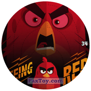 PaxToy.com - 34 EEING RED из Chipicao: Angry Birds 2017
