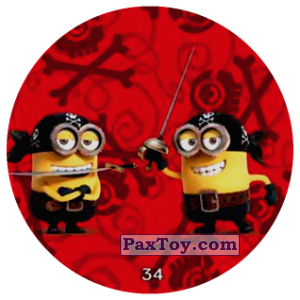 PaxToy.com - 34 PIRATE MINIONS из Chipicao: Minions