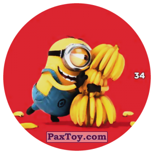 PaxToy.com - 34 STUART AND BANANA из Chipicao: Despicable Me 3