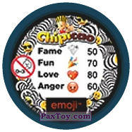 PaxToy.com - 34 Смайлик ругается (Сторна-back) из Chipicao: EMOJI