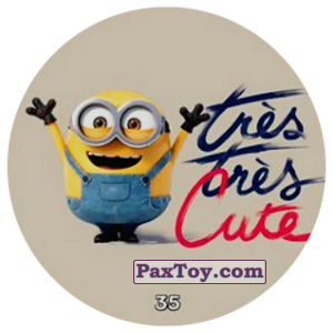 PaxToy.com - 35 tres tres Cute из Chipicao: Minions