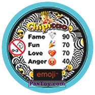 PaxToy.com - 35 Смайлик свистун (Сторна-back) из Chipicao: EMOJI