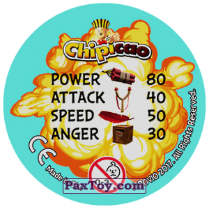 PaxToy.com - 37 STRIKE POSE (Сторна-back) из Chipicao: Angry Birds 2017