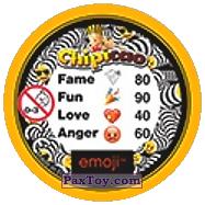 PaxToy.com - 37 Ехидный Смайлик (Сторна-back) из Chipicao: EMOJI