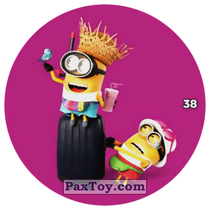 PaxToy.com - 38 DAVE AND JERRY из Chipicao: Despicable Me 3