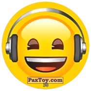 PaxToy.com - 38 Смайлик аудиофил из Chipicao: EMOJI