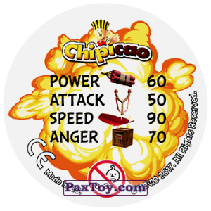 PaxToy.com - 38 TIME TO GET ANGRY (Сторна-back) из Chipicao: Angry Birds 2017