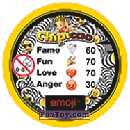 PaxToy.com - 38 Смайлик аудиофил (Сторна-back) из Chipicao: EMOJI