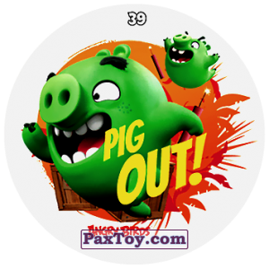 PaxToy.com - 39 PIG OUT! из Chipicao: Angry Birds 2017