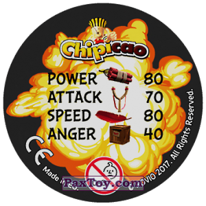 PaxToy.com - 40 PIGS REWARE! (Сторна-back) из Chipicao: Angry Birds 2017