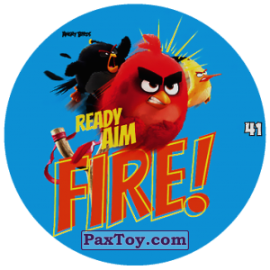 PaxToy.com - 41 READY AIM FIRE! из Chipicao: Angry Birds 2017