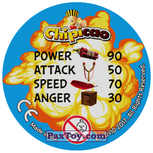 PaxToy.com - 41 READY AIM FIRE! (Сторна-back) из Chipicao: Angry Birds 2017