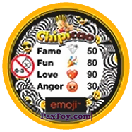PaxToy.com - 41 Смайлик милашка (Сторна-back) из Chipicao: EMOJI