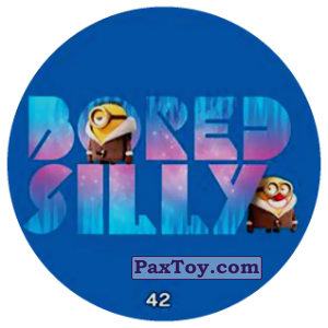 PaxToy.com - 42 BORED SILLY из Chipicao: Minions