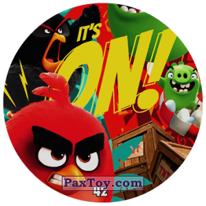 PaxToy.com - 42 ITS ON! из Chipicao: Angry Birds 2017