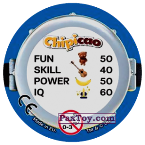 PaxToy.com - 42 BORED SILLY (Сторна-back) из