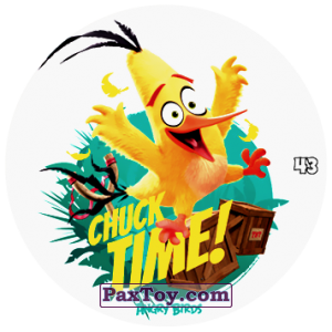 PaxToy.com - 43 CHUCK TIME! из Chipicao: Angry Birds 2017