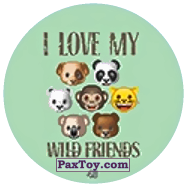 PaxToy.com - 43 Emoji animals из Chipicao: EMOJI