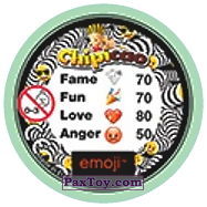 PaxToy.com - 43 Emoji animals (Сторна-back) из Chipicao: EMOJI
