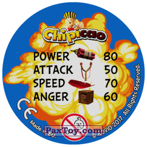 PaxToy.com - 46 TNT (Сторна-back) из Chipicao: Angry Birds 2017
