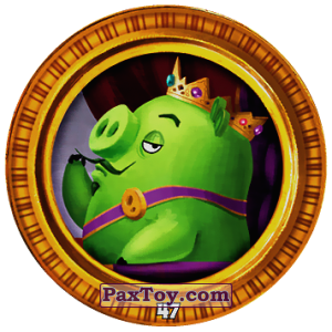 PaxToy.com - 47 KING PIG из Chipicao: Angry Birds 2017