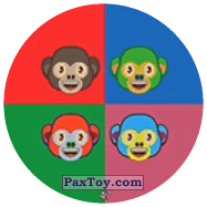 PaxToy.com - 47 Цветные MONKEY`s из Chipicao: EMOJI
