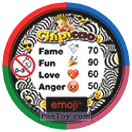 PaxToy.com - 47 Цветные MONKEY`s (Сторна-back) из Chipicao: EMOJI