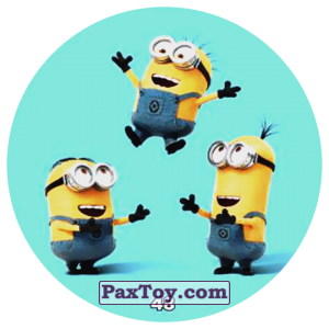 PaxToy.com - 48 MINIONS из Chipicao: Despicable Me 3