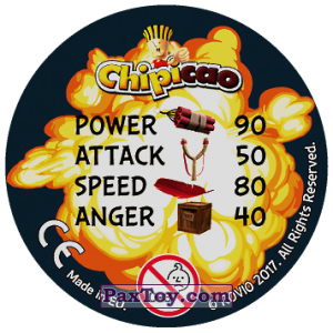 PaxToy.com - 48 KING PIG (Сторна-back) из Chipicao: Angry Birds 2017