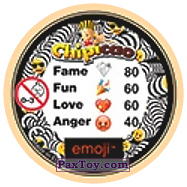 PaxToy.com - 48 Three Kings MONKEY's (Сторна-back) из Chipicao: EMOJI