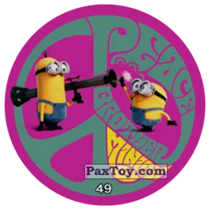 PaxToy.com - 49 PEACE BROTHER MINION из Chipicao: Minions