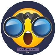 PaxToy.com - 49 Смайлик смотрит в бинокль из Chipicao: EMOJI